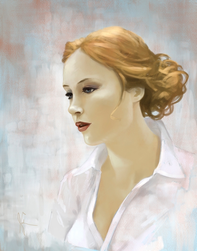 Digital study of woman by Jameson Gardner